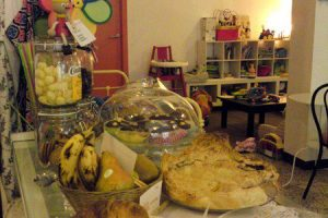 La Marelle, 1er Café des Enfants dans le quartier de la Ribera.