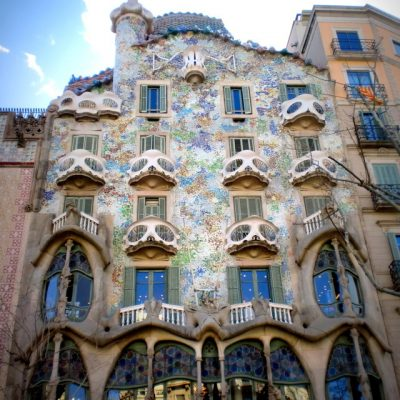 Les Incontournables de Barcelone l'Architecture en folie