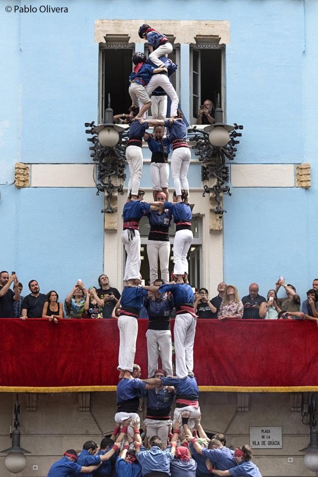 Festes Majors de Barcelone - Castellers de Gràcia (Pablo Olivera)