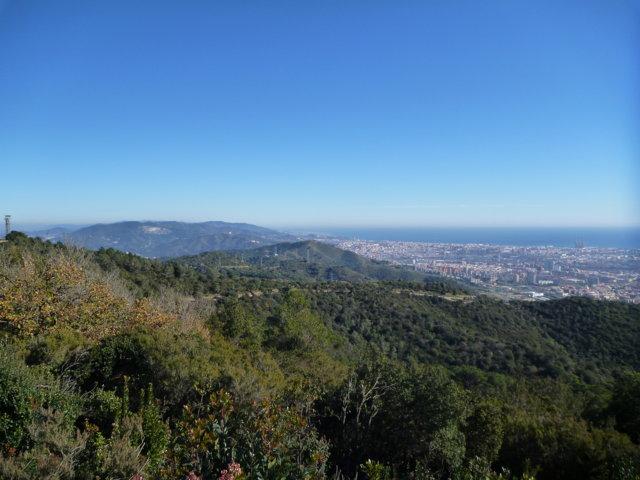Ode à l' hiver à Barcelone