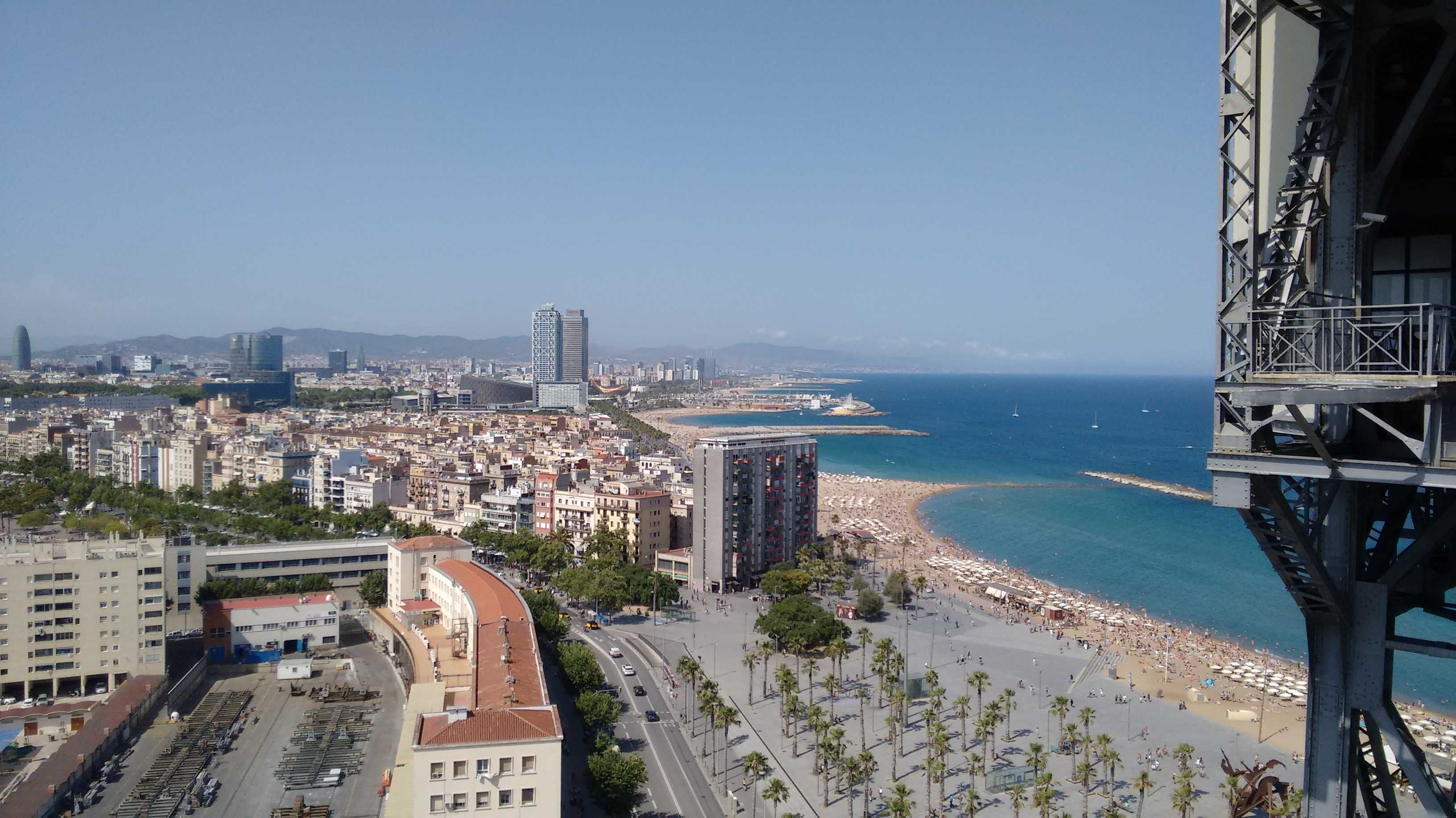 [ Skyline de Barcelone ] #4 Le téléphérique du port