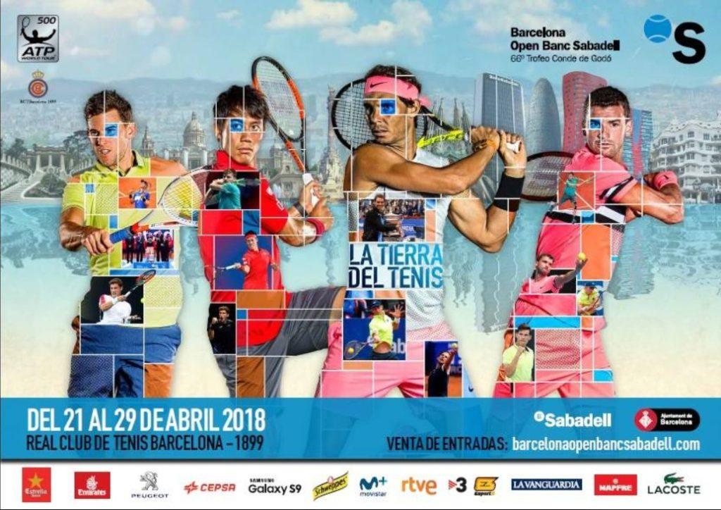 Open de Barcelona Banc Sabadell - Agenda Avril - Barcelona Autrement