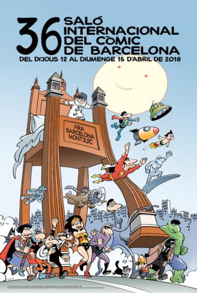 Saló Internacional del Còmic  - Agenda Avril - Barcelona Autrement