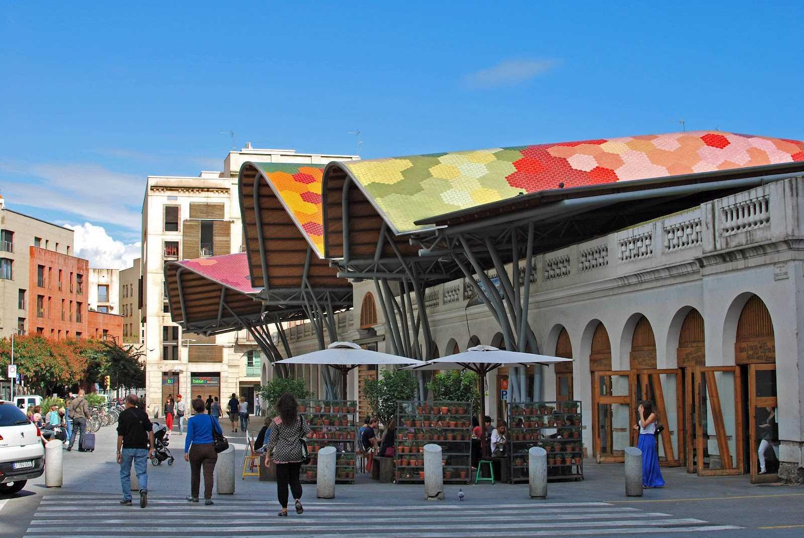 Barcelona Autrement - Marchés à Barcelone - Mercat de Santa Caterina