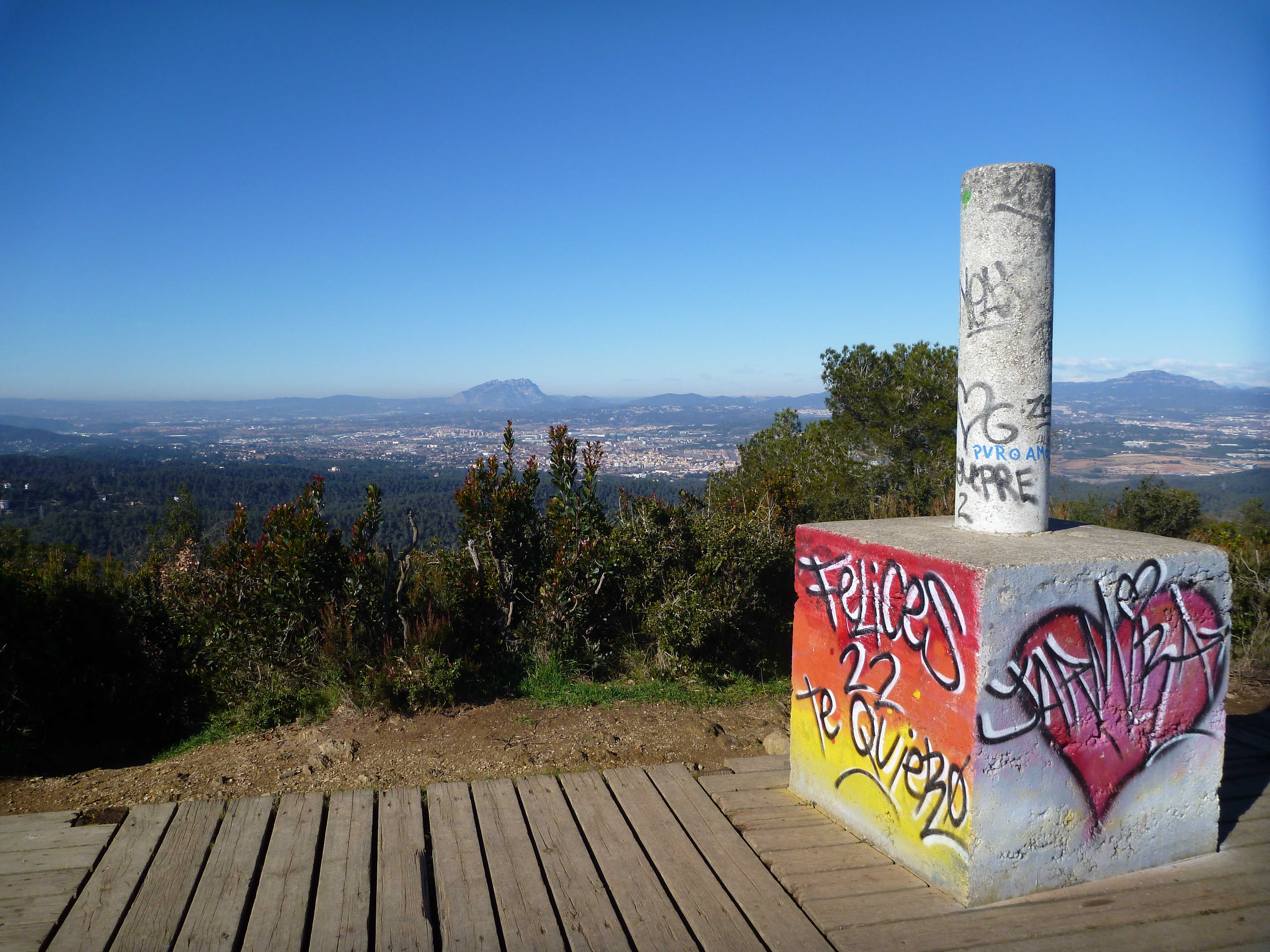 Les plus beaux panoramas de Barcelone - Mirador Maria Gispert - Barcelona Autrement