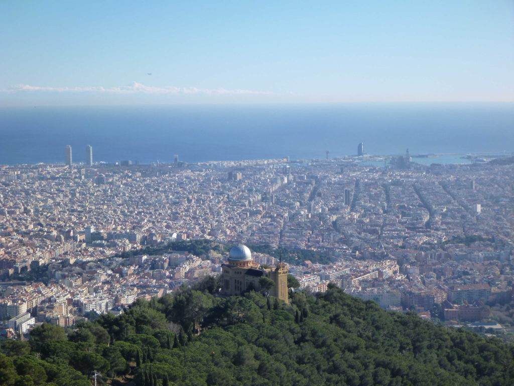Les plus beaux panoramas de Barcelone - Tibidabo - Barcelona Autrement