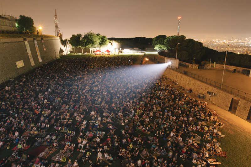 Où voir du cinéma en plein air à Barcelone ?