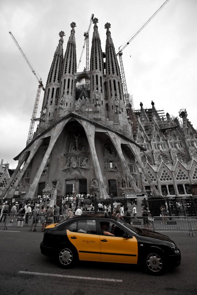 Marathon de Barcelone - Sagrada Familia - Barcelona Autrement
