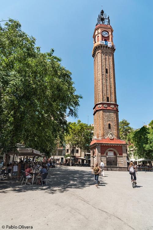Barcelona Autrement - Gràcia - Clocher