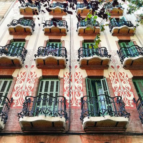 Barcelona Autrement - Gràcia - Façade moderniste