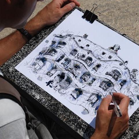 Barcelona Autrement - Atelier dessin