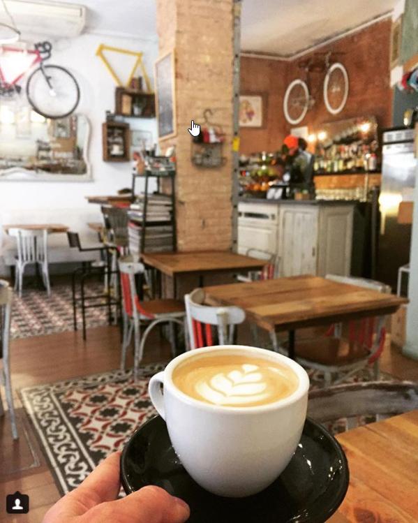 Guide collaboratif des meilleurs cafés de Barcelone - Bicioci