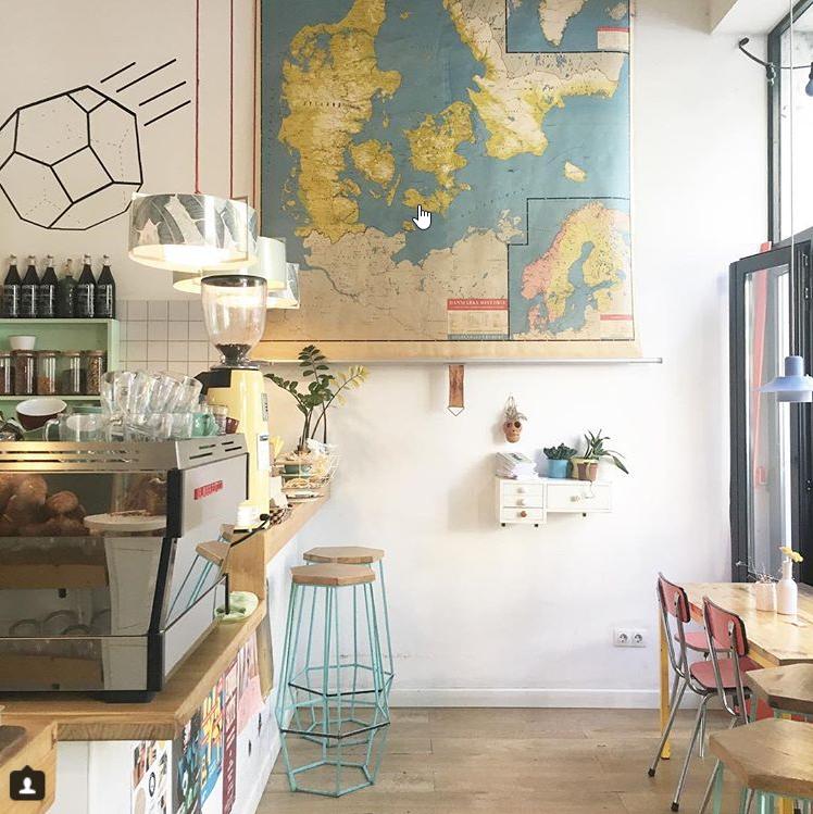 Guide collaboratif des meilleurs cafés de Barcelone - Cafè Cometa