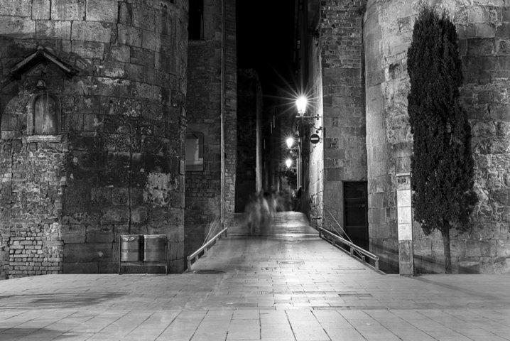 Visites nocturnes dans le Gótico
