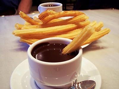Chocolate con churros - Hiver à Barcelone - Barcelona Autremtn