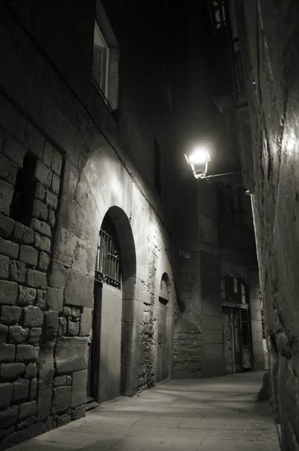Nocturne au Gotico - Hiver à Barcelone - Barcelona Autrement