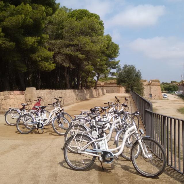 Visite guidée Montjuïc en vélo électrique - Barcelona Autrement