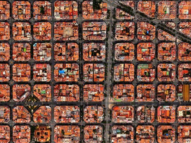 Carte Eixample Barcelone.Des Oasis Dans La Ville Les Patios De L Eixample Barcelona Autrement