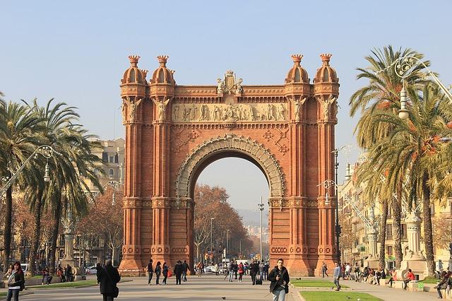 Marathon de Barcelone - Arc de Triomf - Barcelona Autrement