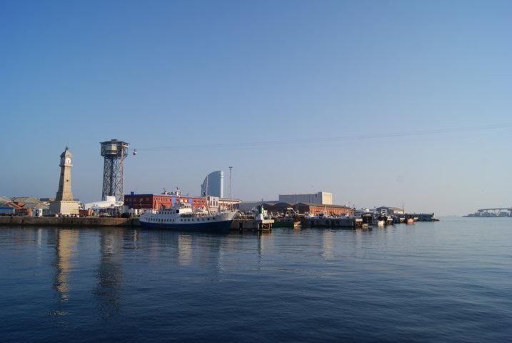 Skyline de Barcelone - Le téléphérique du port - Barcelona Autrement