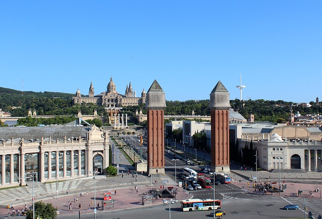Marathon de Barcelone - Plaça Espanya - Barcelona Autrement