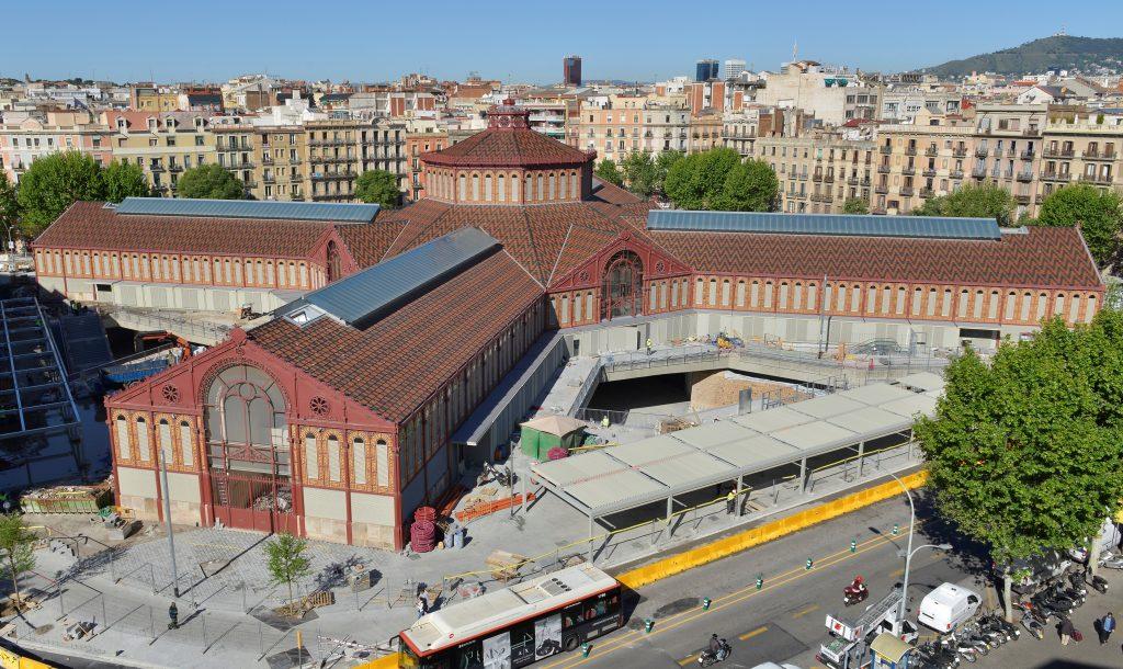 Barcelona Autrement - Marché de Sant Antoni vue aérienne