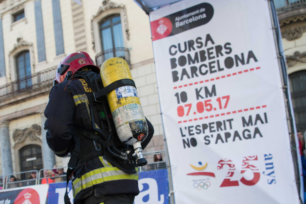 Cursa de Bombers - Agenda avril - Barcelona Autrement