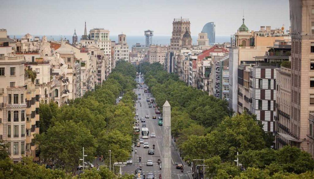 Barcelona Autrement - Passeig de Gràcia - Barcelone fait du bien à la tête