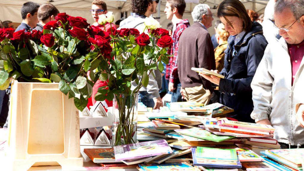 Sant Jordi - Agenda Avril - Barcelona Autrement