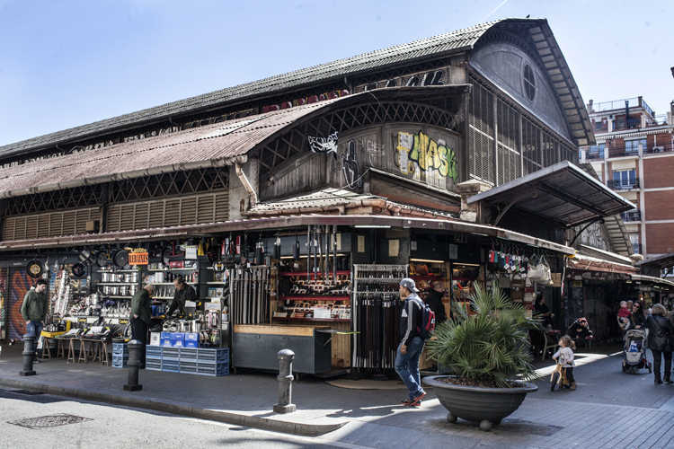 Le marché de l'Abaceria © Directa.cat