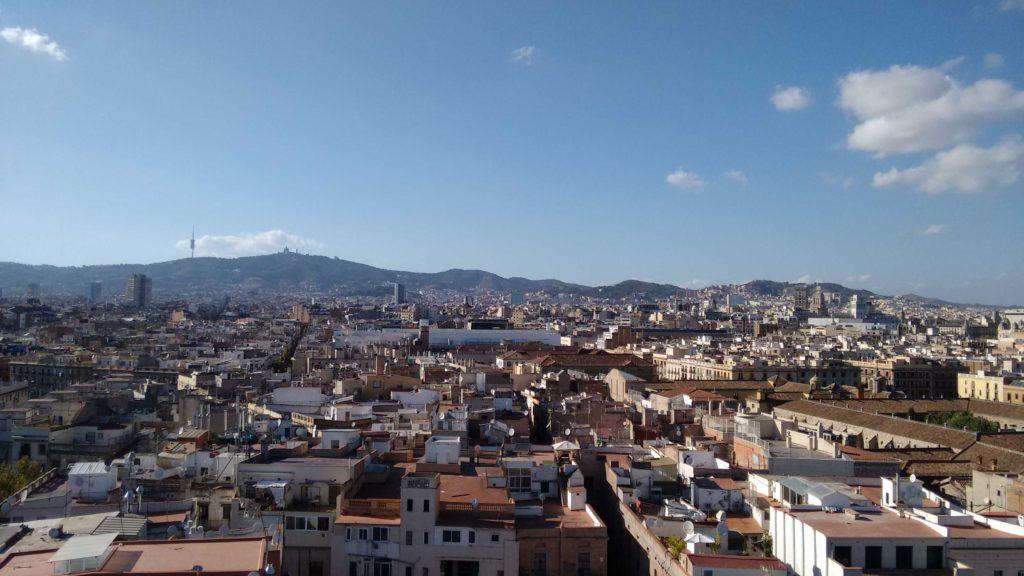 Les plus beaux panoramas de Barcelone - Rooftop del Barcelo Raval - Barcelona Autrement