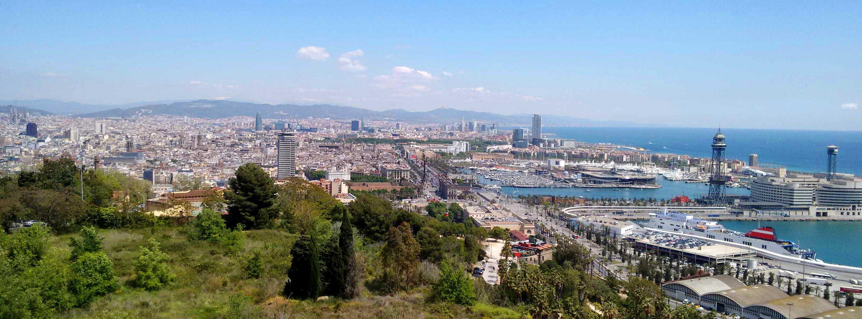 Barcelona Autrement - Vue sur Barcelone et la vieille ville