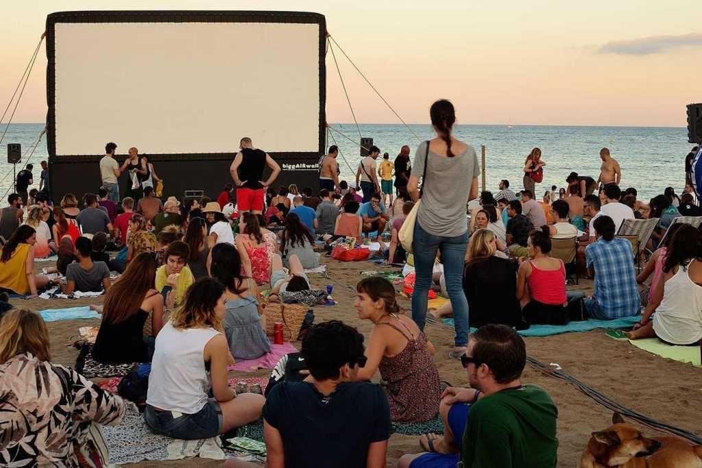Cinema Lliure - Cinéma en plein air - Barcelona Autrement