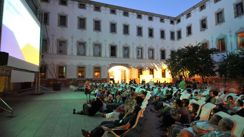 Les Gandules - Cinéma en plein air - Barcelona Autrement