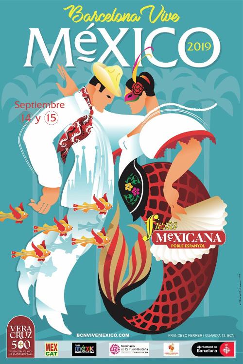 Barcelona Autrement - Septembre - Feria Mexicana