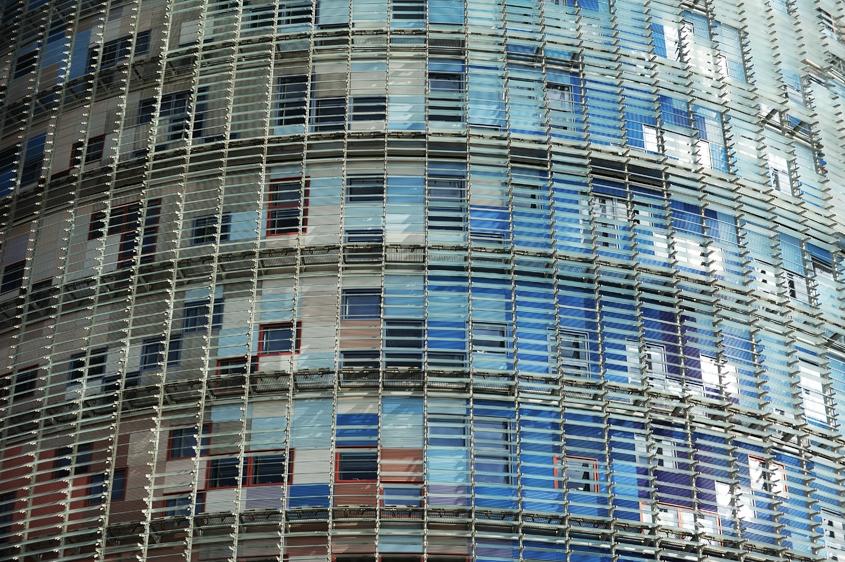 Barcelona Autrement - Jean Nouvel - Fenêtre tour