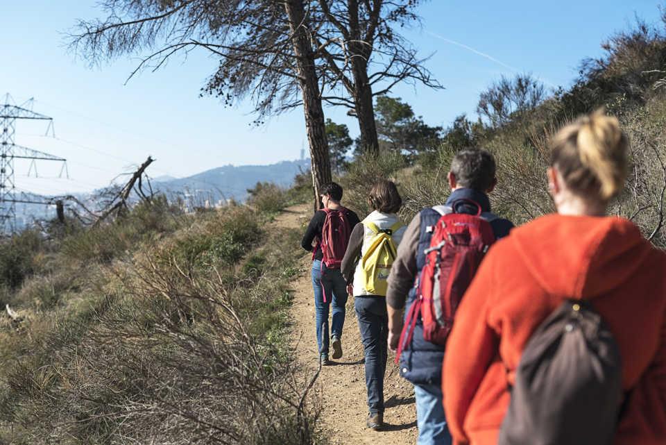 Barcelona Autrement - Sport à Barcelone - Randonnée à Collserola