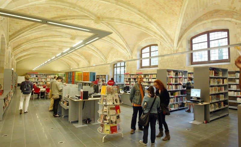 Barcelona Autrement - Travailler au calme - Biblioteca Sant Pau i Santa Creu
