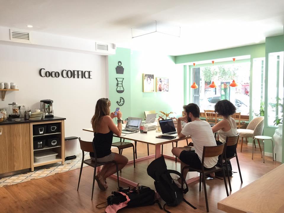 Barcelona Autrement - Travailler au calme - Coco Coffice
