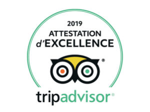 Barcelona Autrement - Attestation d'Excellence 2019 logo fond blanc - Trip Advisor