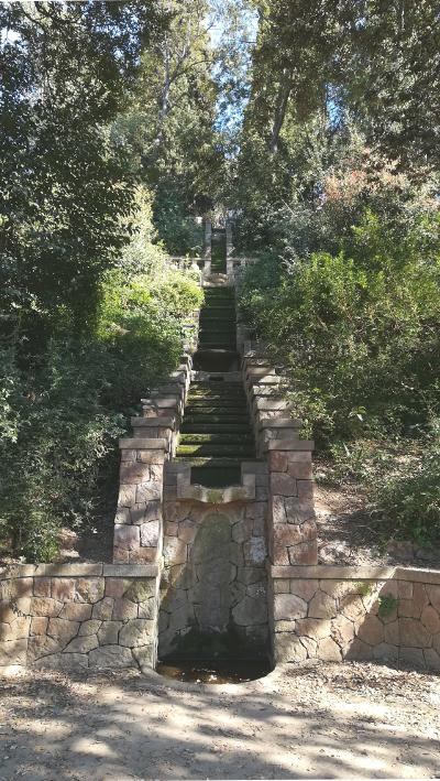 Barcelona Autrement - Jardins de Laribal - Cascade del Gat