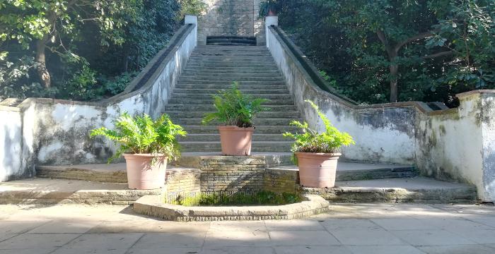 Barcelona Autrement - Jardins de Laribal - Escaliers Generalife
