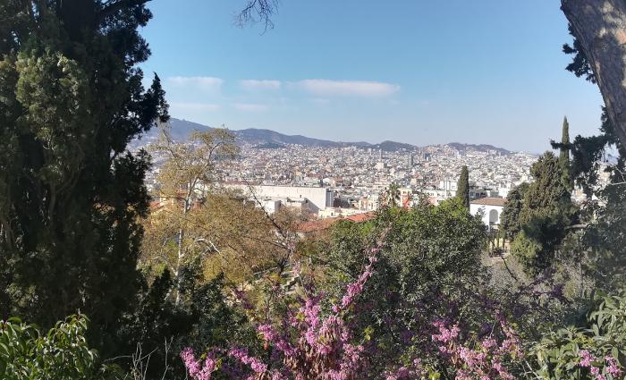 Barcelona Autrement - Jardins de Laribal - Panorama