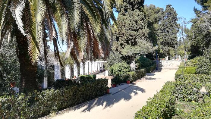 Barcelona Autrement - Jardins de Laribal - Pergola