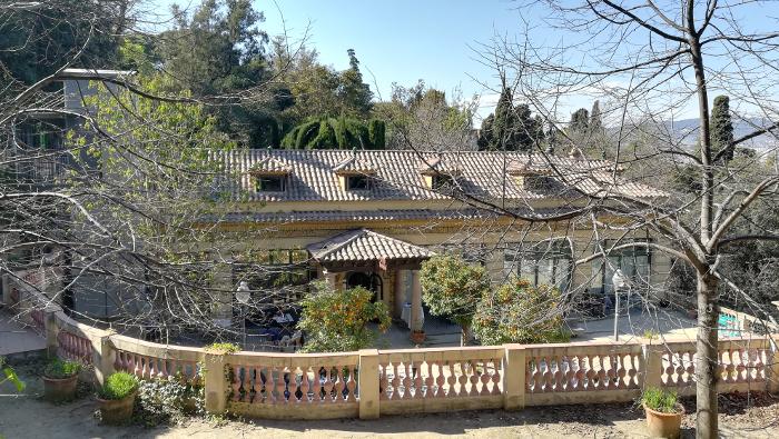 Les jardins de Laribal, au coeur de la colline de Montjuïc