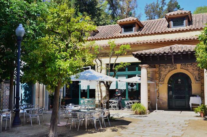 Barcelona Autrement - Jardins de Laribal - Restaurant