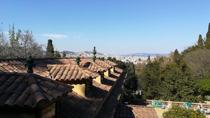Barcelona Autrement - Jardins de Laribal - Toit restaurant