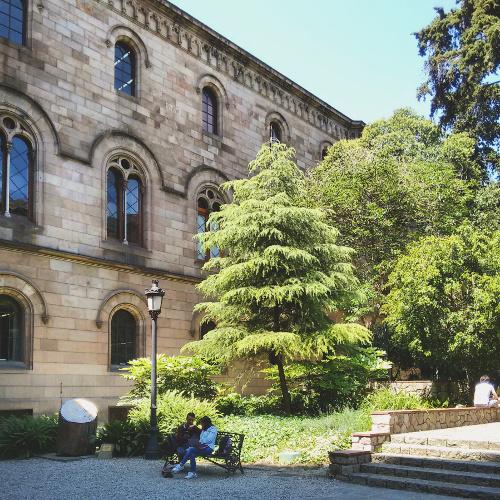 Barcelona Autrement - 16 endroits insolites - Jardins de la Universitat