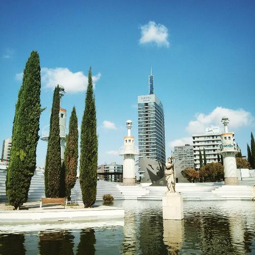 Barcelona Autrement - 16 endroits insolites - Parc de la Espanya Industrial