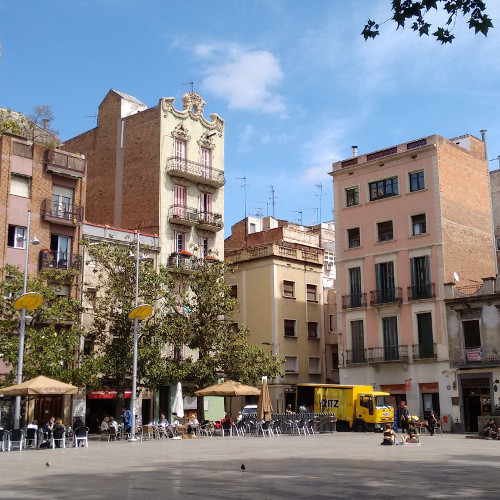 Barcelona Autrement - 16 endroits insolites - Plaça del Sol